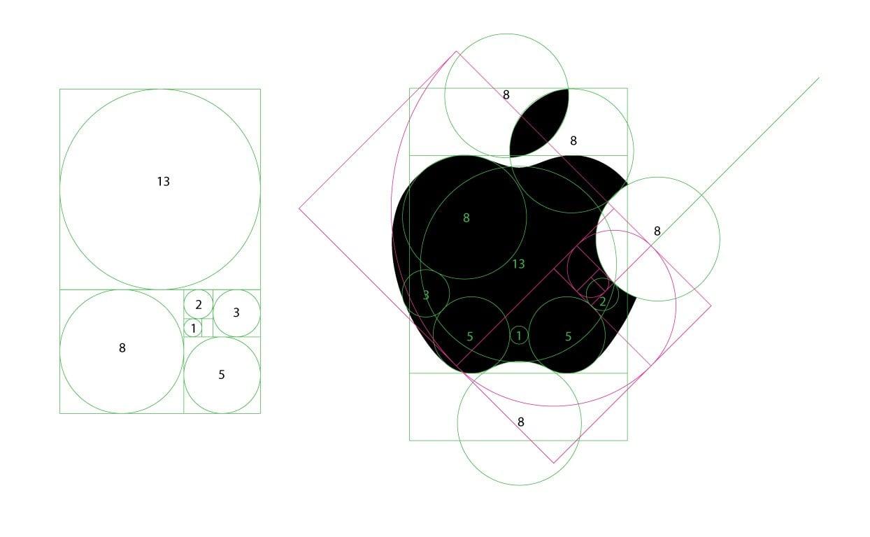 apple logo design