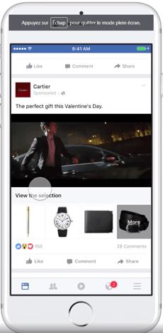 cartier facebook collection
