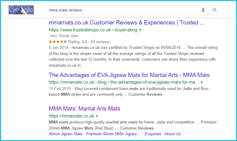 TS_Review_profile_MMA_Mats_in_SERPS